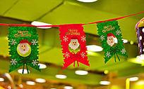 圣诞节小吊旗装饰