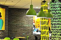 现代餐厅装饰