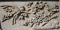 喜鹊登梅雕像