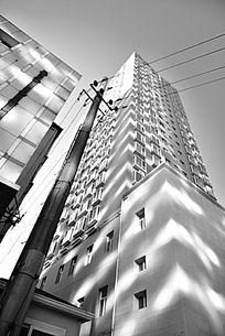 影黑白建筑摄影