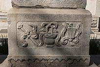 传统图案芭蕉扇浮雕