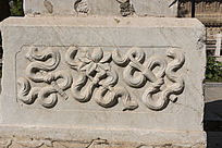 传统图案花纹浮雕
