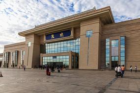 敦煌火车站