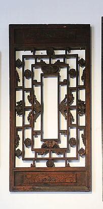 古典中式雕花门扇