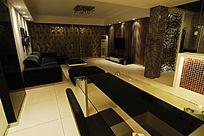 豪华式客厅展示图片