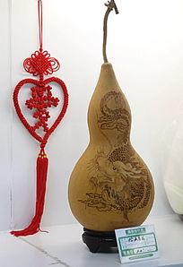 葫蘆洛鐵畫中國龍