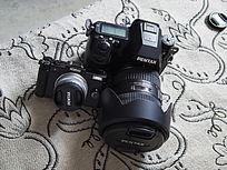 两个相机的依靠