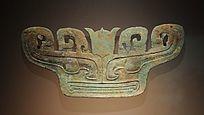 三星堆博物馆藏品铜兽面