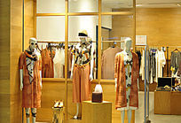 时尚女装店陈列设计