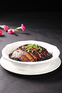 香干菜蒸肉