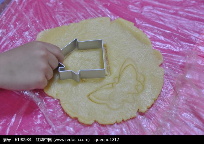 儿童手工饼干制作图片