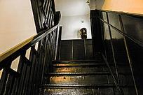 民国建筑室内楼梯