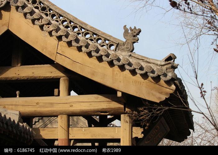 木质古建筑结构图片
