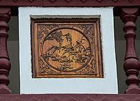 鸳鸯和兰花吉祥图案