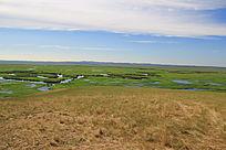 额尔古纳湿地景色