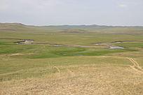 呼伦贝尔牧场风光