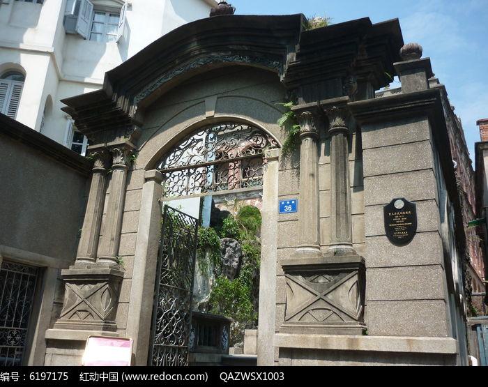 欧式建筑大门图片,高清大图