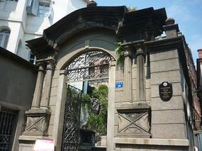 欧式建筑大门
