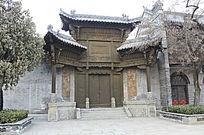 台庄古建筑大门