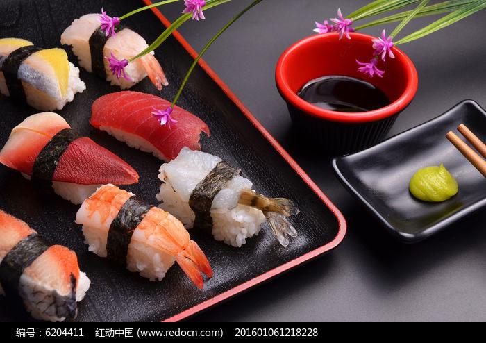 日本寿司日式料理高清图片下载 编号6204411 红动网