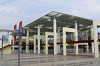 中心广场建筑物