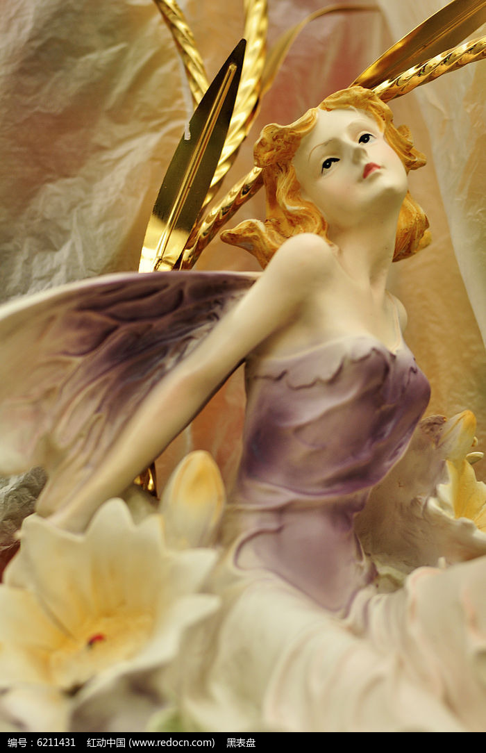 百合花仙子图片,高清大图
