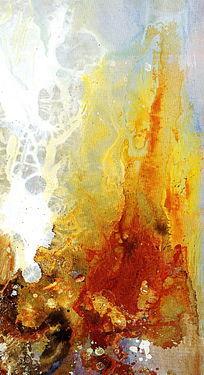 端景玄关抽象油画背景墙壁画