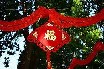 红色的中国结