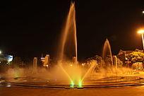 民族广场音乐喷泉