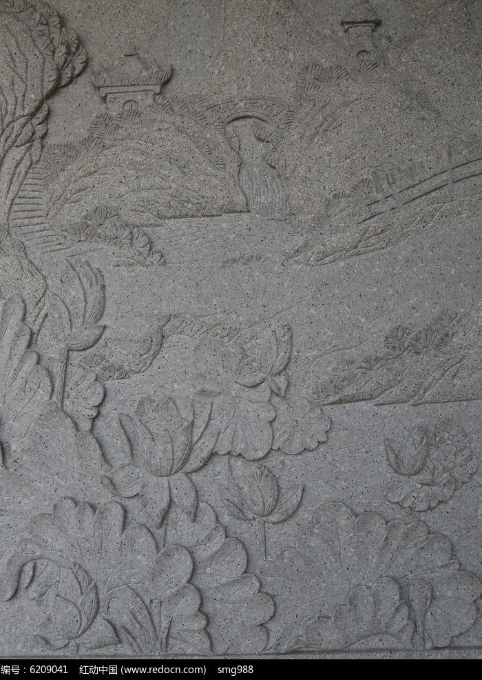 商品图案石雕花纹亭台内容包装设计品牌图片
