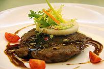 西餐美食 法式黑椒煎牛扒