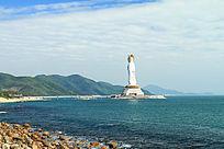高108米的南海观音圣像