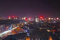美色的城市夜色