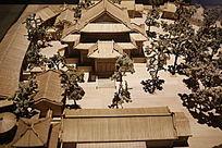 清代北京西苑团城模型