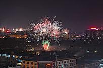 中国春节烟花
