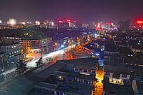 中国春节夜色