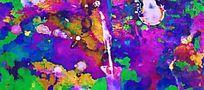 抽象印花花型