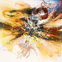 创意抽象油画