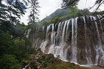 高清诺日朗瀑布摄影