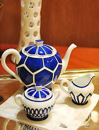 古典风格的名贵茶具