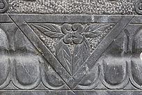 花卉几何图案雕刻