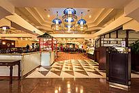 酒店大厅自助餐厅