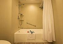 酒店客房浴池