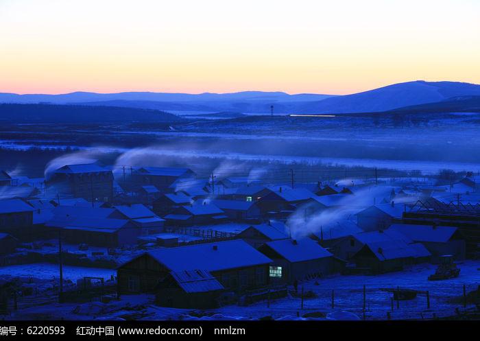 内蒙古额尔古纳边境村庄图片,高清大图_乡村小镇素材