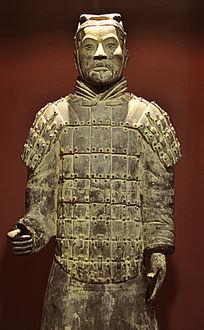 秦始皇兵马俑雕像