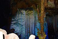 溶洞的炫丽景观