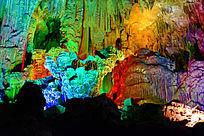 壮丽景观的溶洞