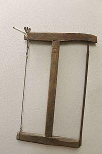 传统木匠工具工字锯子