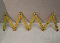 传统木匠工具折叠木尺