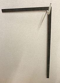 传统木匠工具直角铁尺